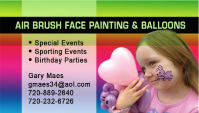 Airbrush Face Painting & Balloons