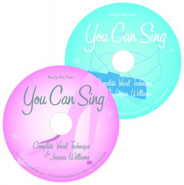 You Can Sing CD: Complete Vocal Technique. 75 minutes of exercises: low range, high range, blend, belt, scales & jumps. Daily workout & warm up before stage & studio. Beginner to Advanced. Online lessons with CD: www.YouCanSingCD.com